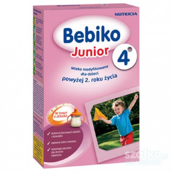 Saszetki Mleka BEBIKO Junior4 po 2 roku życia