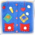 sweter z naszywkami 74