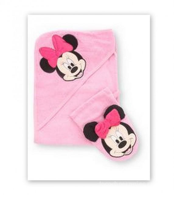 Cudny recznik i myjka z Minnie Mouse GEORGE