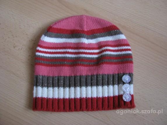 czapka jesienno wiosenna r 2 3latka