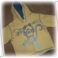 Bluza NEXT rozm 86 z małpką z kapturem