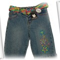 Nowe jeansy z kolorowym paskiem Early Days