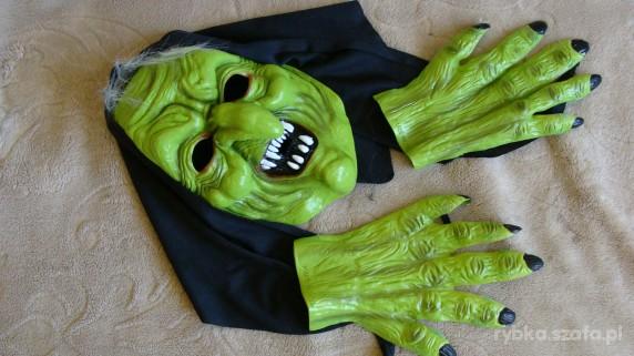 drastyczna maska wiedźmy
