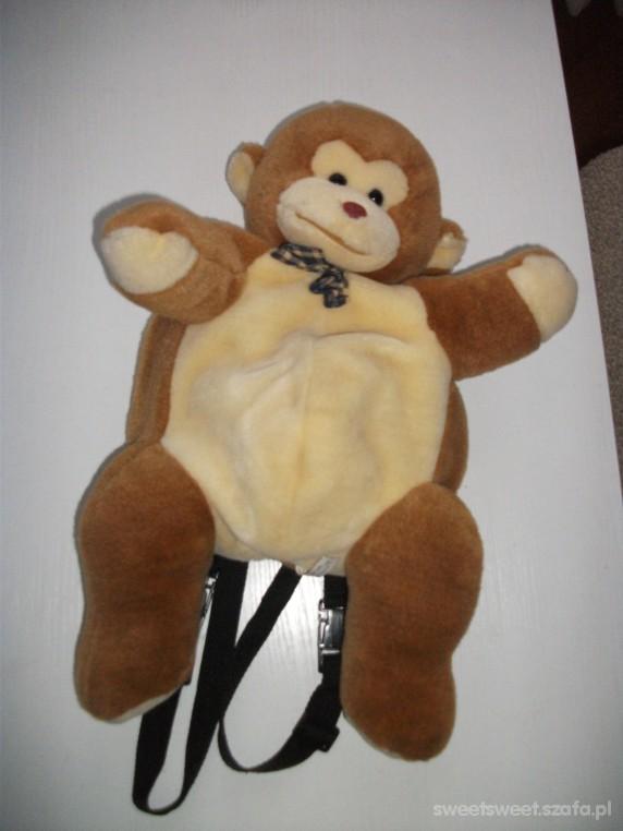 Słodki Plecaczek Małpka