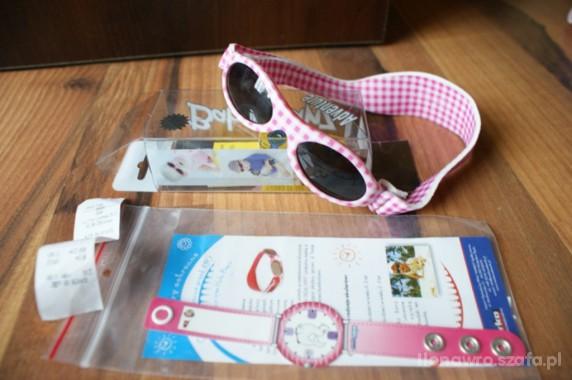 Okulary Baby Banz i bransoletka Kidslabel Sun