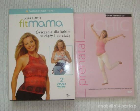 ćwiczenia w ciąży i po ciąży 3 dvd