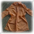 Pomarańczowa tuniko koszula CENA JUŻ Z WYSYŁKĄ