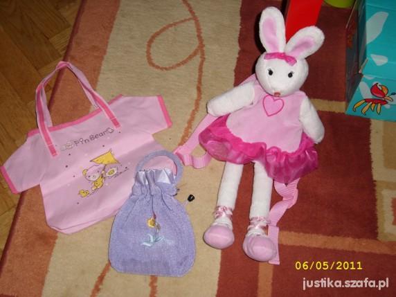 Plecak balerina torebka gratis