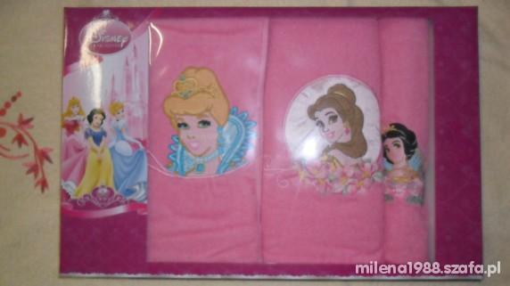 komplet ręczników 3 sztuki DISNEY nowe