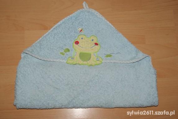 Ręcznik z kapturkiem żabka