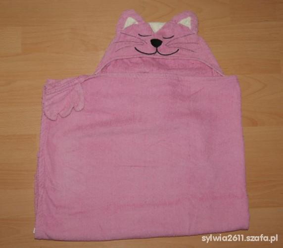 Ręcznik z kapturkiem kotek