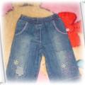 Spodnie jeans r 6 9mcy
