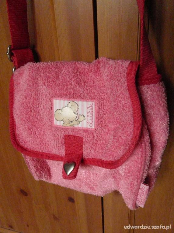 różowa mięciutka torebeczka
