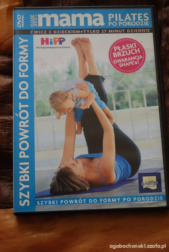DVD Pilates po porodzie