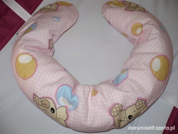Poduszka rogal gniazdko dla niemowląt