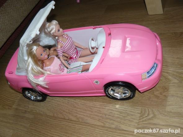 samochód dla lalki barbi