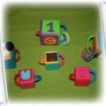 edukacyjne klocki playskool