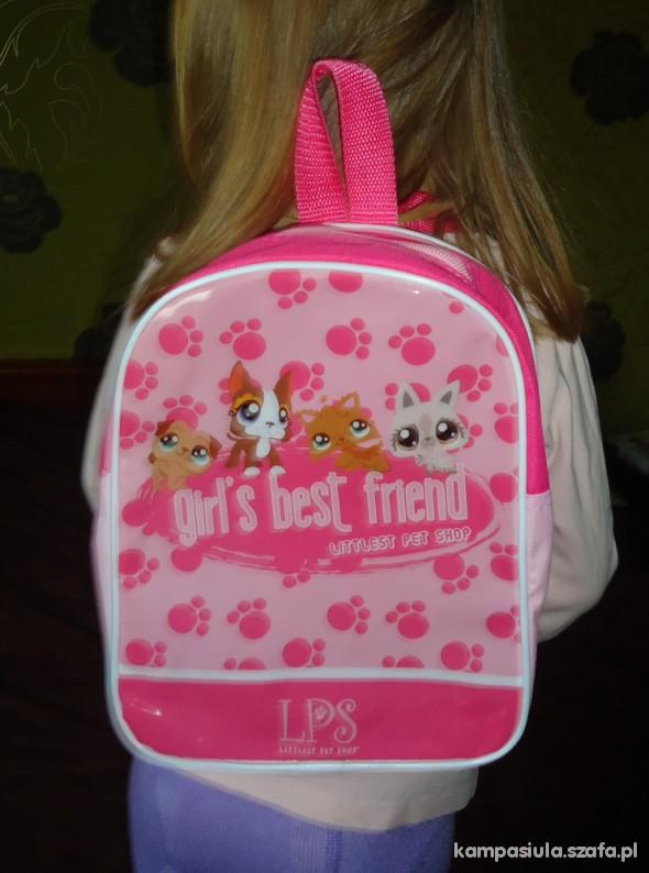 nowy Plecak PET SHOP
