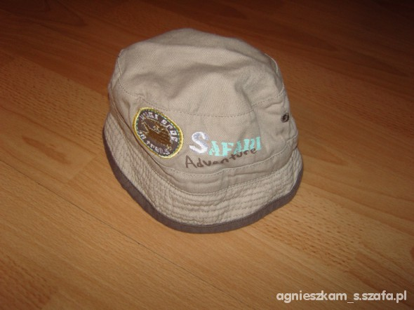 dwustronny kapelusik safari