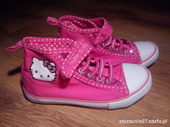 Trampki buty Hello Kitty 29 róż w Sportowe Szafa.pl