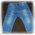 spodnie jeans dla chłopca Zara kids 74cm
