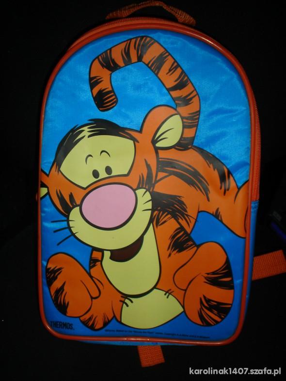 Plecak na termos z tygryskiem