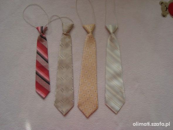 krawat zestaw 4 krawatów dla małego facecika