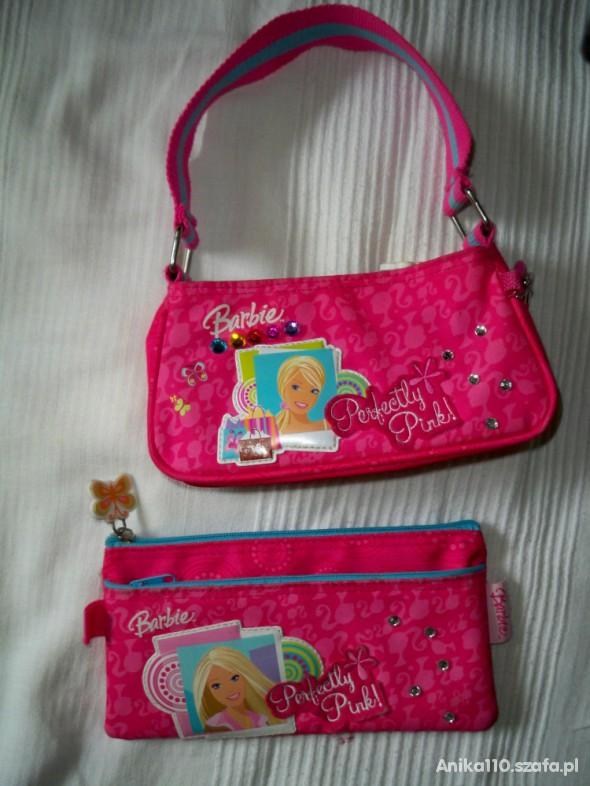 Zestaw Barbie torebka kosmetyczka