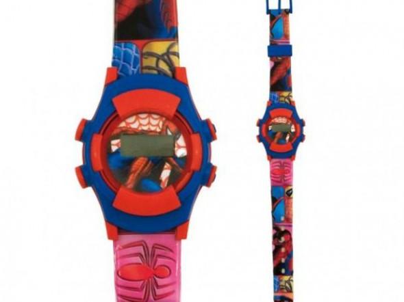 Zegarek na rękę LCD Spiderman Disney