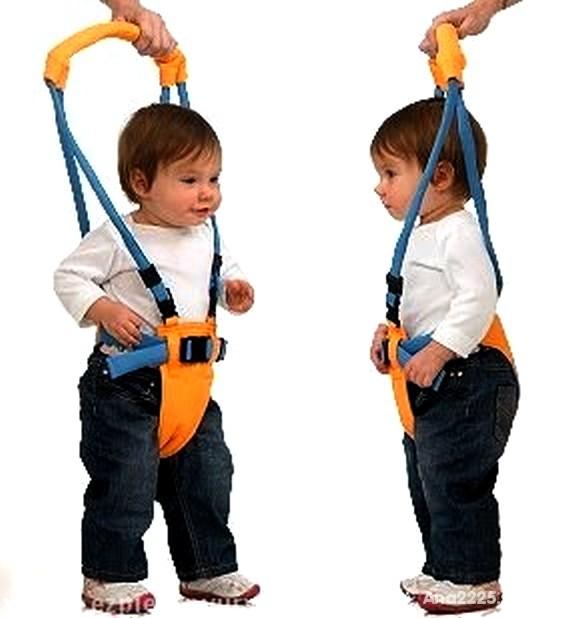 Bezpieczne szelki do nauki chodzenia