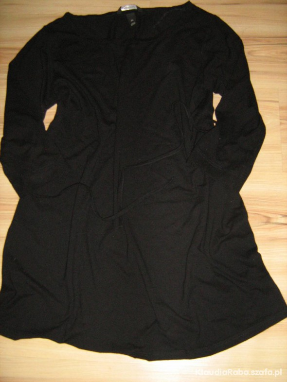 180be861 Czarna tunika bluzka HM mama 42 44 46 w Ubrania ciążowe - Szafa.pl