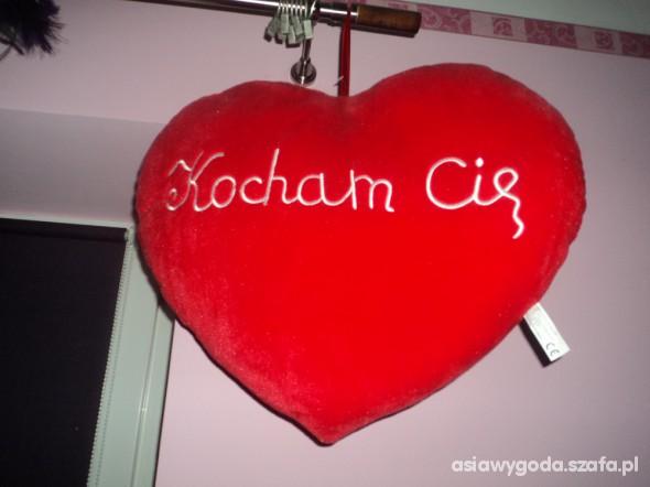 Poduszka Serce Kocham Cię Na Walentynki W Pluszaki I Maskotki Szafapl