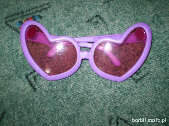 Okulary serduszka BARBI
