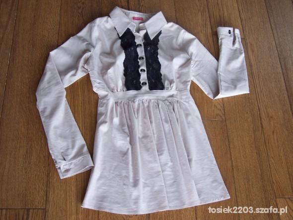 Bluzka koszula ciążowa Happymum S