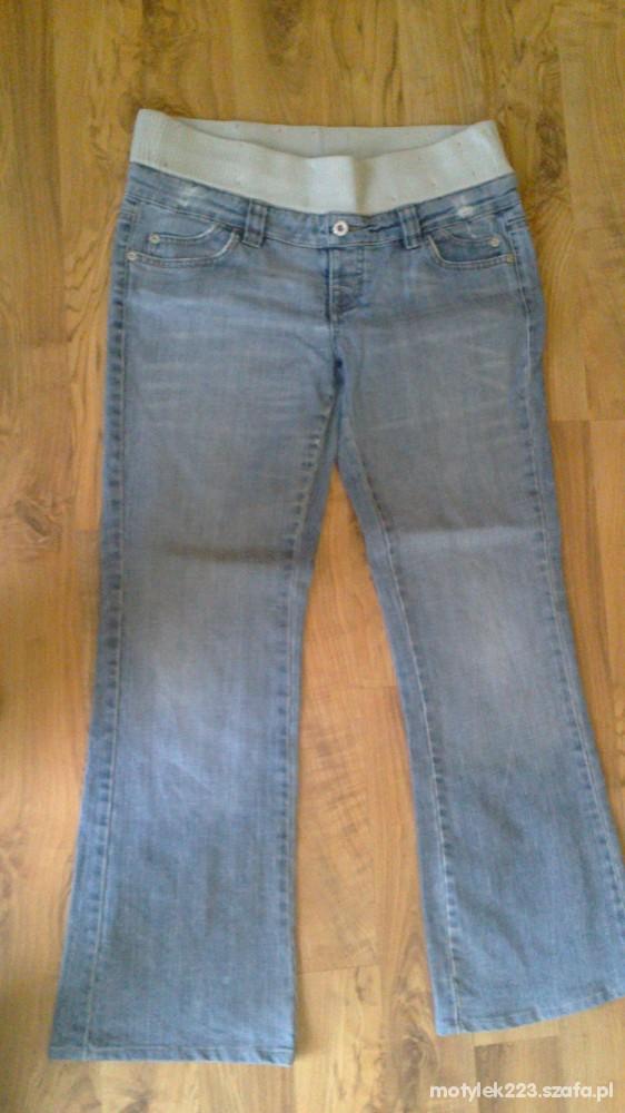 spodnie jensy dla przyszłej mamy