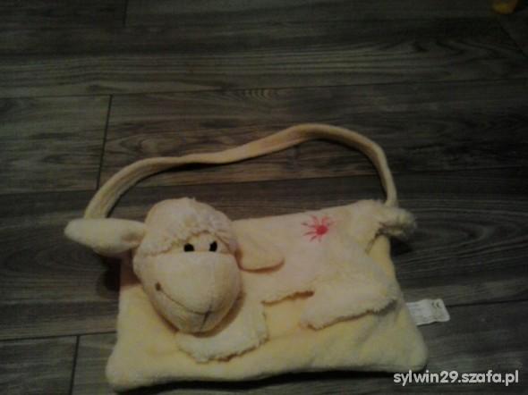Słodka torebka z głową owieczki