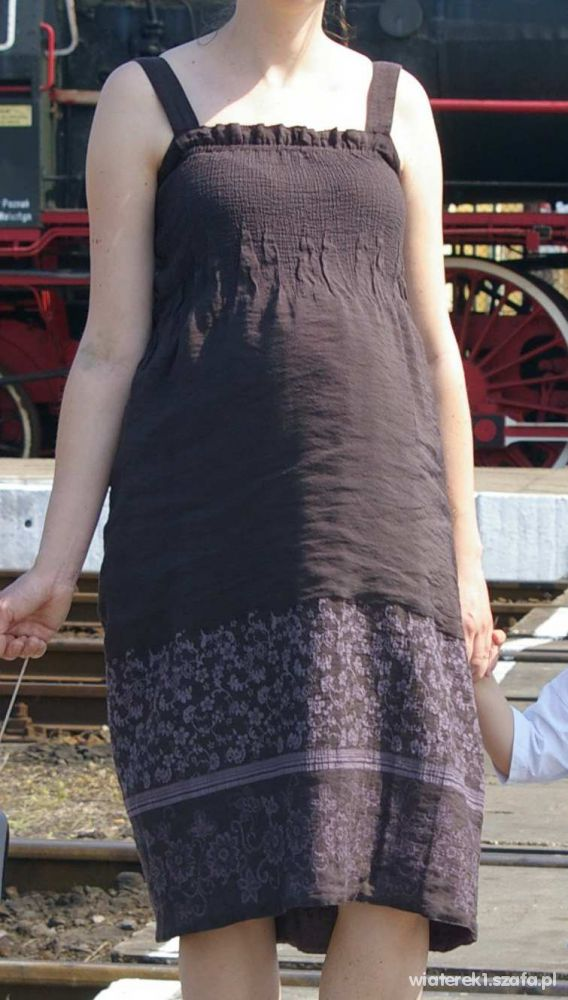 Sukienka ciążowa dwustronna rozmiar 38