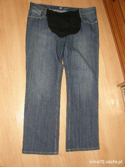 GEMELLO fajne jeansy ciążowe XL 42