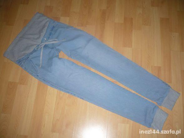 jeansowe ciazowe alladynki s m