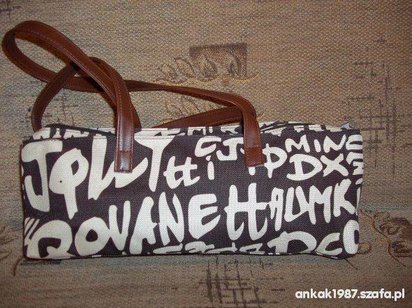 Nowa torebka w napisy