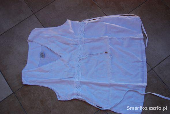 Lniana koszulka ciążowa Torelle 42 XL