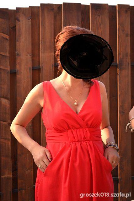 Prześliczna elegancka sukienka ciążowa r38 40