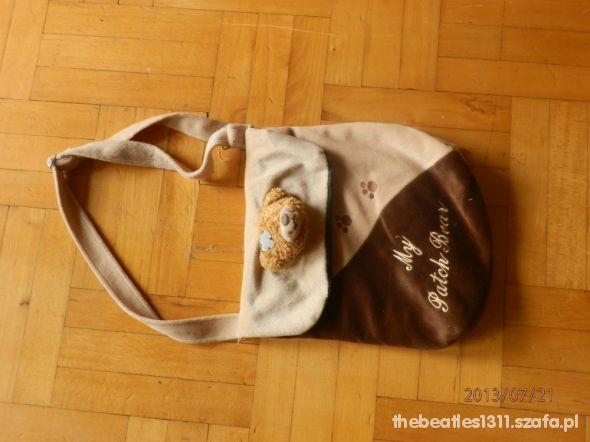brązowa torba dla dziewczynki