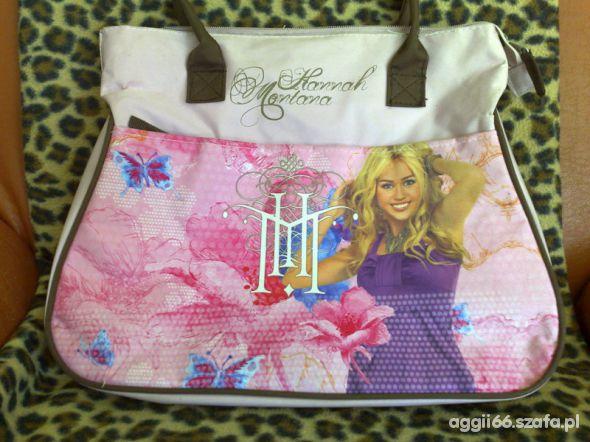 Fajna torba z Hannah Montana
