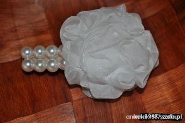 DUŻA SPINKA DO WŁOSÓW tzw AUTOMAT perły