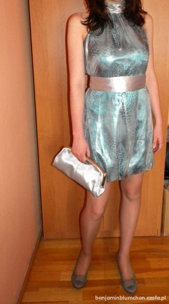 Sukienka koktajlowa ciążowa rozmiar 38