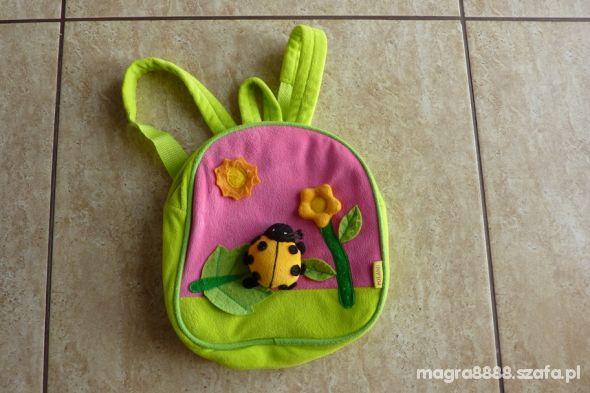 Pluszowy plecak dla dziecka w wieku od 3 do 6 lat