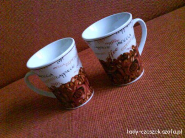 2 nowe porcelanowe kubeczki