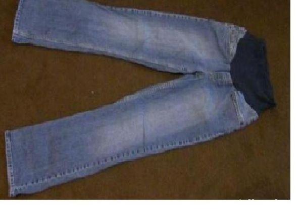 ciążowe spodnie jeansowe H&M