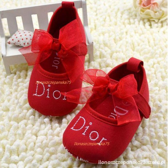 2a60ab73 Buciki Dior dla Niemowlaka Dziewczynka 4 kolory w Dla niemowląt ...
